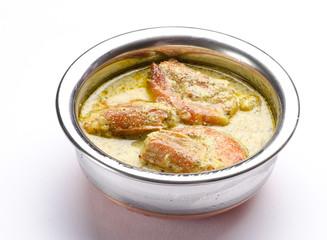 Yummy Prawn Malai Curry, Traditional Indian Food