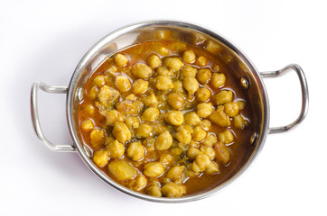 Delicious Indian Food Chole