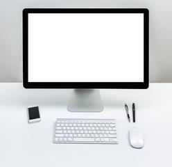 Blank screen computer moniter