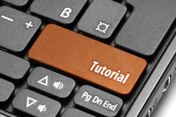Tutorial. Orange hot key on computer keyboard