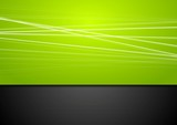 Fototapety Abstract green and black background
