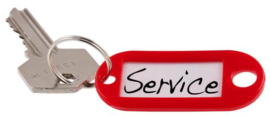 clé de service