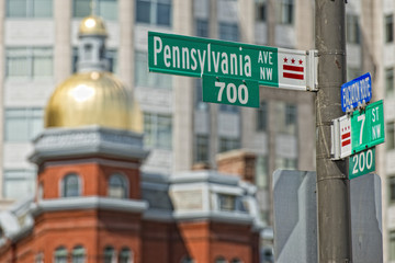 Pennsylvania avenue sign