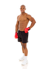 African American boxer