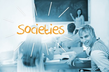 Societies against students in a classroom