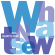 """WHAT'S NEW"" Letter Collage (newsletter products marketing)"