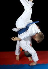 High throw uki-goshi in the performance athlete