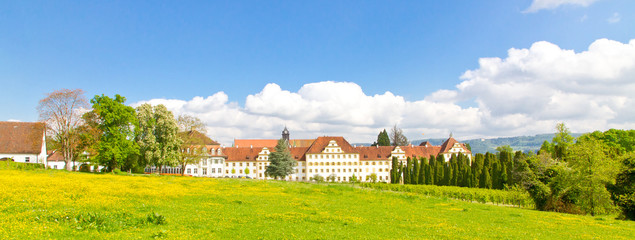 Schloss Salem am Bodensee - Panorama