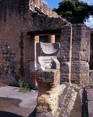 Roman sundial, Herculaneum, Italy © Arena Photo UK