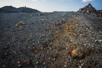 Volcanic island of Nea Kameni