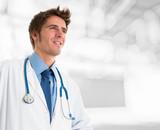 Smiling doctor portrait