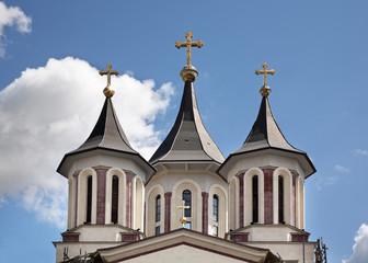 Resurrection Episcopal Cathedral in Oradea. Romania