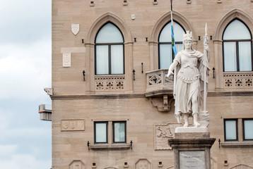 San Marino Central Square