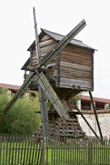 Mill (19th century) in Kirillo-Belozersky monastery, Russia