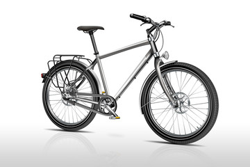 Bike, Fahrrad freigestellt