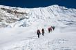 Island peak( Imja Tse) climbing, Everest region, Nepal - 64857308