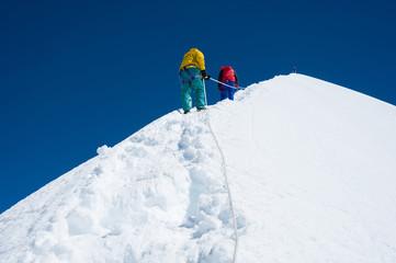 Island peak( Imja Tse) climbing, Everest region, Nepal