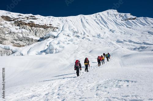 Aluminium Alpinisme Island peak( Imja Tse) climbing, Everest region, Nepal