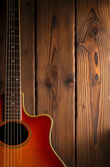 country and western guitar