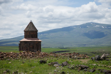 church ruins of the anicent Armenian capital of Ani