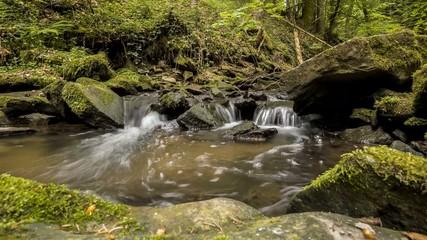 Wasserstrudel im Strümpfelbach