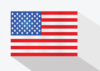 American Flag idea illustration