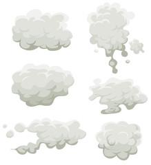 Smoke, Fog And Clouds Set