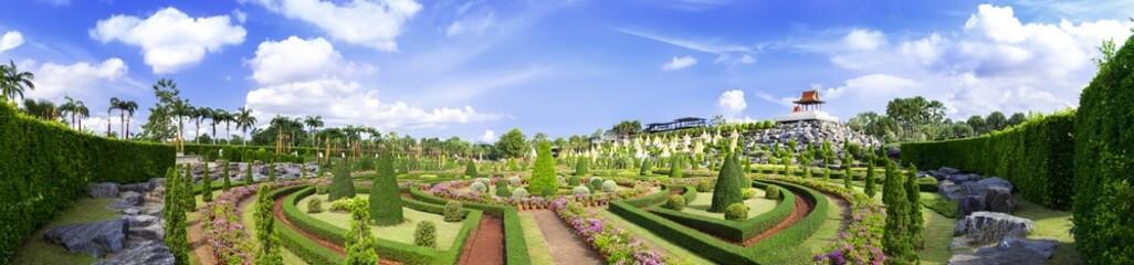 Panorama French Garden.