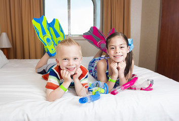 Kids enjoying a Cruise Vacation