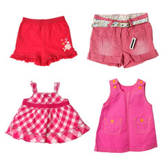 Girl's Shorts and Dresses