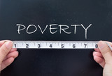 Measuring poverty poster