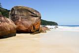 Fototapeta Praia Lopes Mendes beach at Ilha Grande Island Brazil