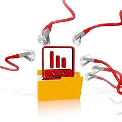 xlsx file folder security attack