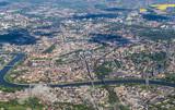 aerial of Krakow