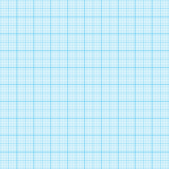 Graph, millimeter paper. Seamless illustration, real scale.