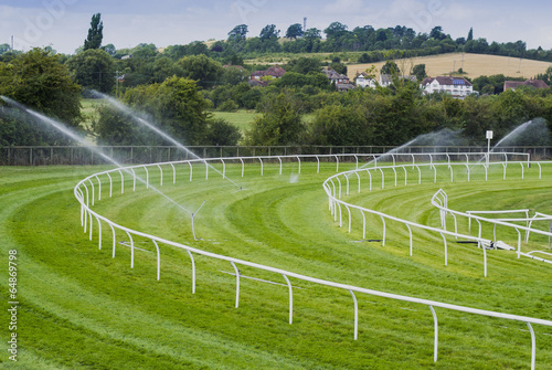 canvas print picture racecourse