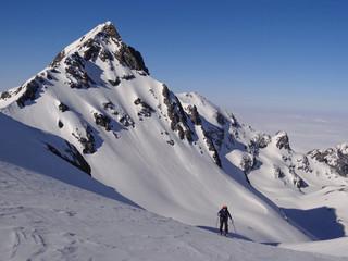 Ski de randonnée en Belledonne, Alpes