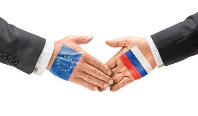 EU und Russland reichen sich die Hand