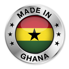 Made In Ghana Silver Badge