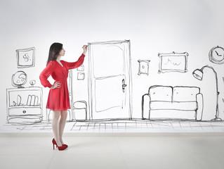 drawing an interior