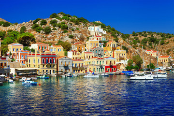 scenic Greece -Symi island