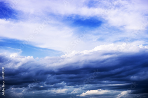 Fluffy Cloud and Atmospheric