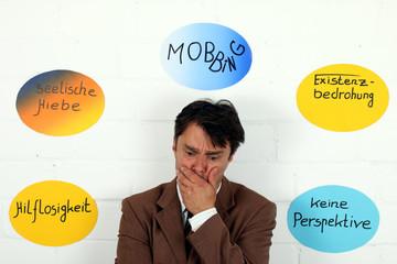 Mobbing als Existenzbedrohung, seelische Hiebe