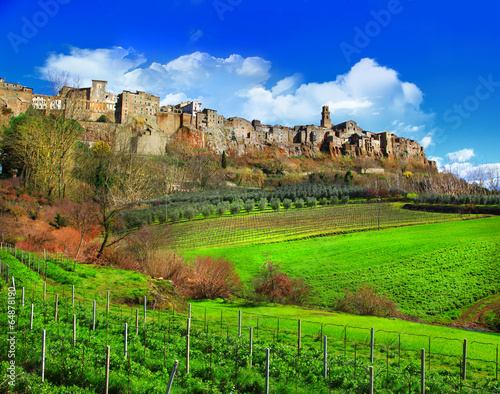 scenic Tuscany landscapes - 64878190