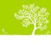 Grüner Laubbaum