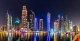Fototapety Dubai Marina cityscape, UAE