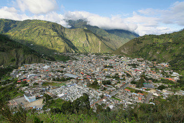 City of Banos, Ecuador