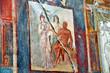 Ercolano, scavi archeologici - affreschi