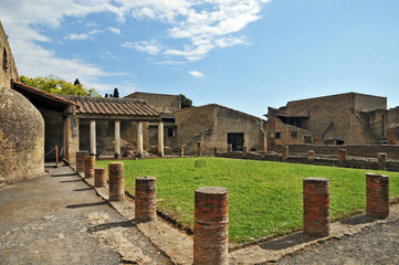 Ercolano, scavi archeologici