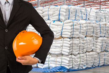 Boss warehouse to check inventory for export
